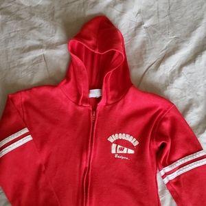 Girls Wisconsin Badger hoodie
